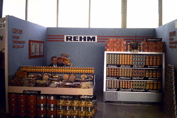 Rehm Messestand