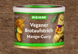 Veganer Brotaufstrich Mango-Curry