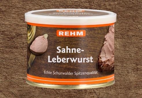 Sahne-Leberwurst