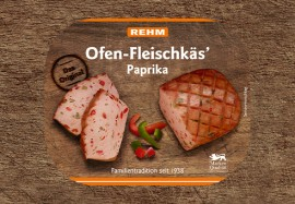 Ofen-Fleischkäs' Paprika
