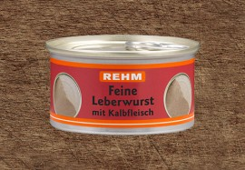 Feine Leberwurst mit Kalbfleisch