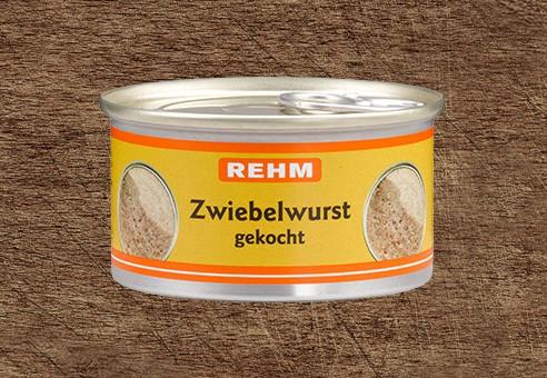 Zwiebelwurst gekocht