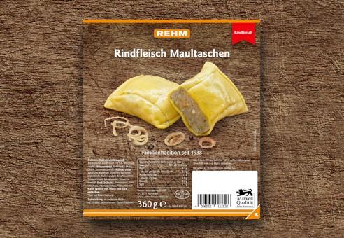 Rindfleisch-Maultaschen