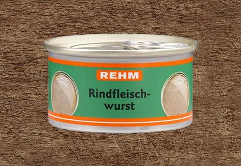 Rindfleischwurst