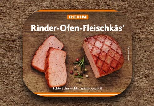 Rinder-Ofen-Fleischkäs'
