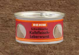 Schwäbische Kalbfleisch‐Leberwurst