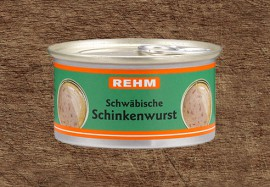 Schwäbische Schinkenwurst