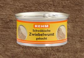 Schwäbische Zwiebelwurst gekocht